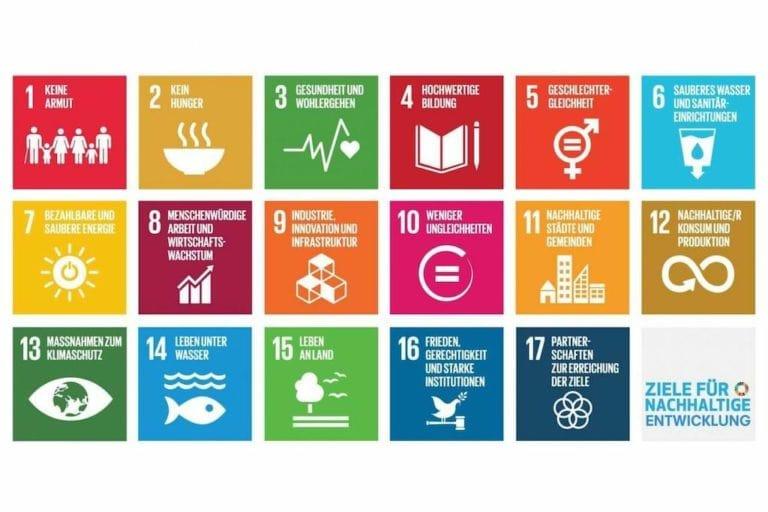 Die globalen Ziele für nachhaltige Entwicklung