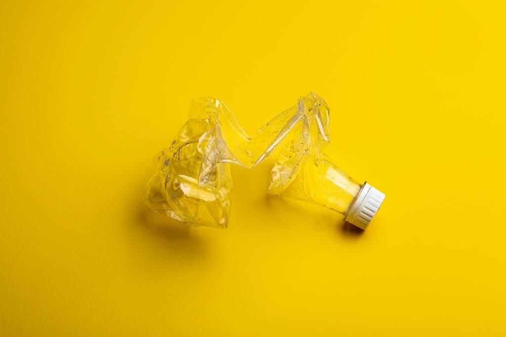 Recycling von Plastikflaschen