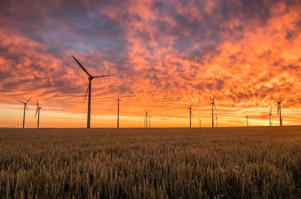 Ökostrom durch Windturbinen