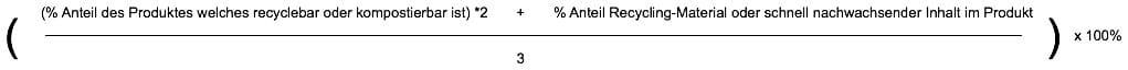 Kreislauffähigkeitsindex Omnicert